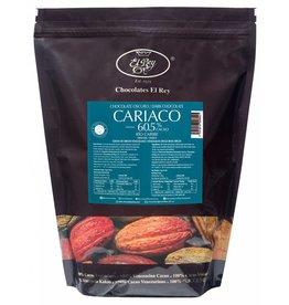 El Rey El Rey - Cariaco Dark Chocolate, 60.5% - 4.4lb