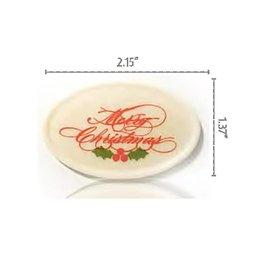Dobla Dobla - Merry Christmas, White (140ct), 93022