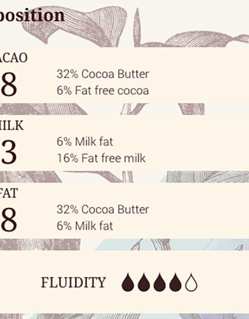 Cacao Barry Cacao Barry - Lactee Superieure Milk Chocolate 38% - 5kg/11 lb, CHM-O38LSUP-US-U77