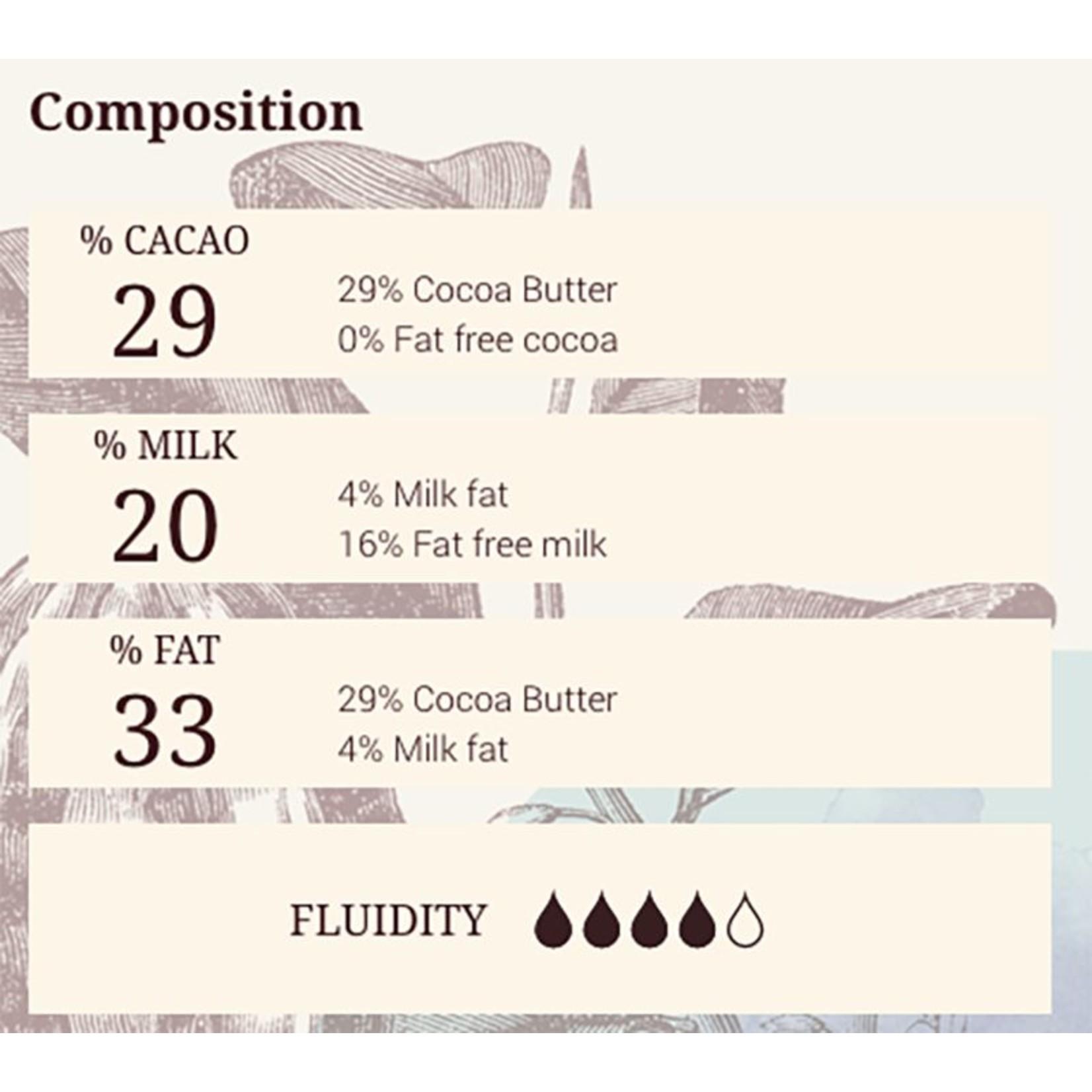 Cacao Barry Cacao Barry - Blanc Satin White Chocolate 29% - 5kg/11 lb, CHW-Q29SATI-US-U77
