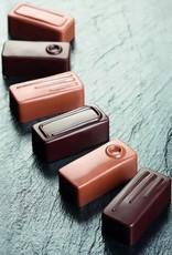 Pavoni Pavoni - Artisanal Polycarbonate Chocolate Mold, Rectangle - line, PC106