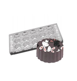 Fat Daddios Fat Daddios - Magnetic mold, Fluted Round (15 Cavity), PCMM-03
