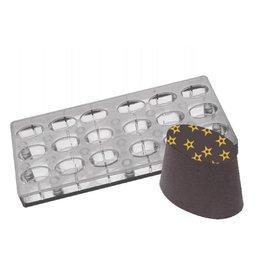 Fat Daddios Fat Daddios - Magnetic mold, Oval (18 Cavity), PCMM-04