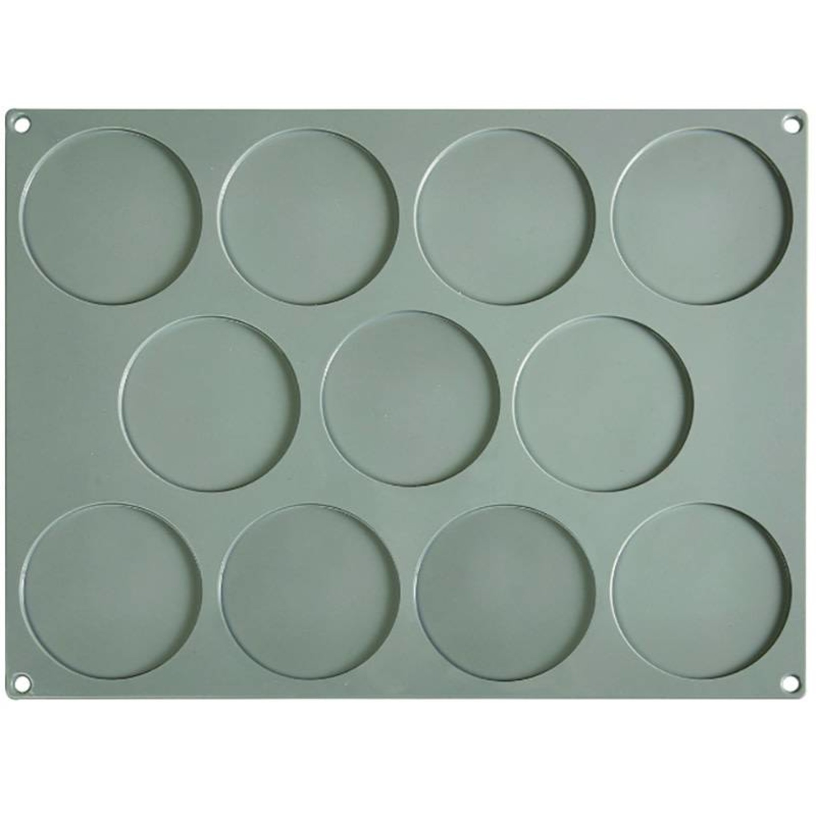 Pavoni Pavoni - Gourmand silicone mold, Disco Piccolo (11 cavity), GG004