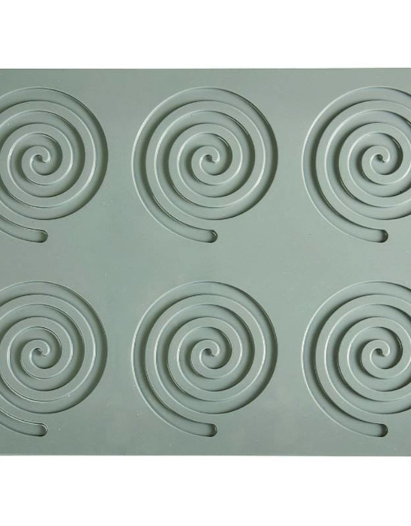 Pavoni Pavoni - Gourmand silicone mold, Spirale (6 cavity), GG005