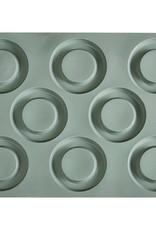 Pavoni Pavoni - Gourmand silicone mold, Tondo (8 cavity), GG006