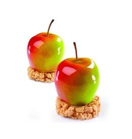Pavoni Pavoni - Pavoflex silicone mold, Tutti Fruitti MELA/Apple- (20 cavity), PX4330