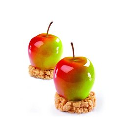 Pavoni Pavoflex mold - Tutti Fruitti MELA/Apple- (20 cavity)