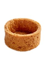 Moda Moda - Tart shell, Graham round - 1.3'' (48ct) sleeve, PA7238-S