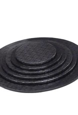 "Enjay Enjay - Cake drum - 1/2"" round, Black -"