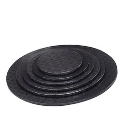 "Enjay Enjay - Cake drum - 1/2"" round, Black (box of 6) -"