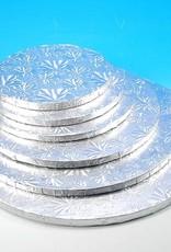 "Enjay Enjay - Cake drum - 1/2"" round, Silver -"