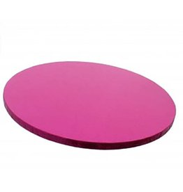 "Enjay Enjay - Cake drum - 1/2"" round, Pink (box of 6) -"
