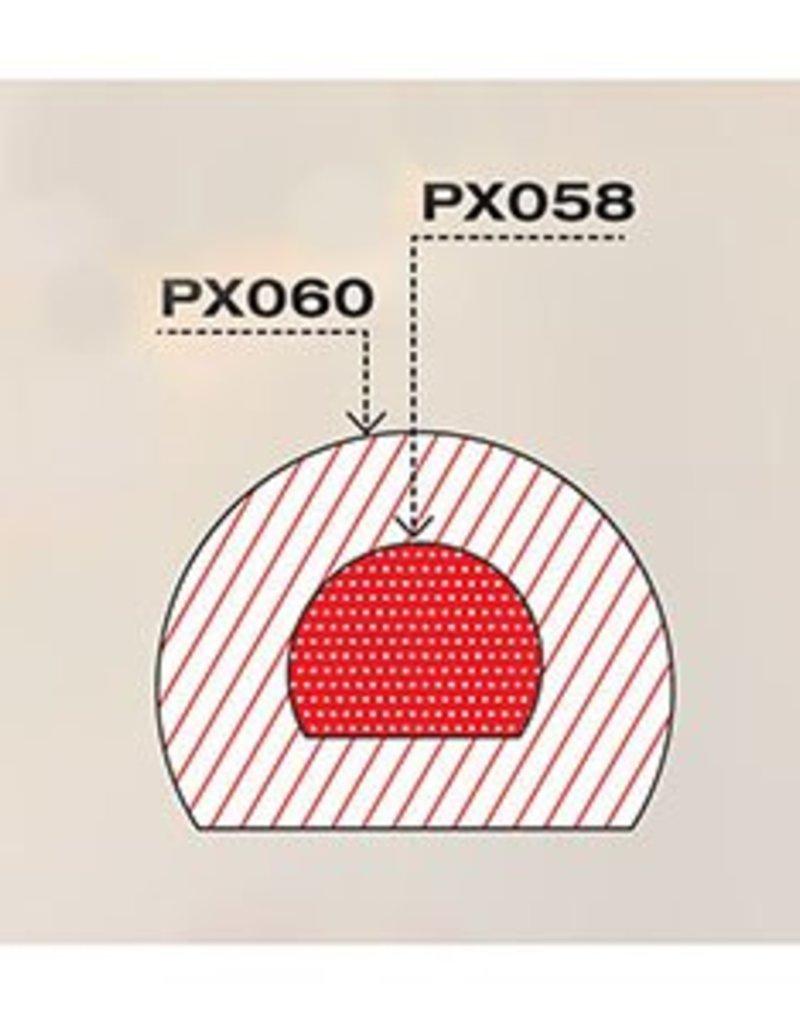 Pavoni Pavoni - Pavoflex silicone mold, Tronchetto (5 cavity), PX060