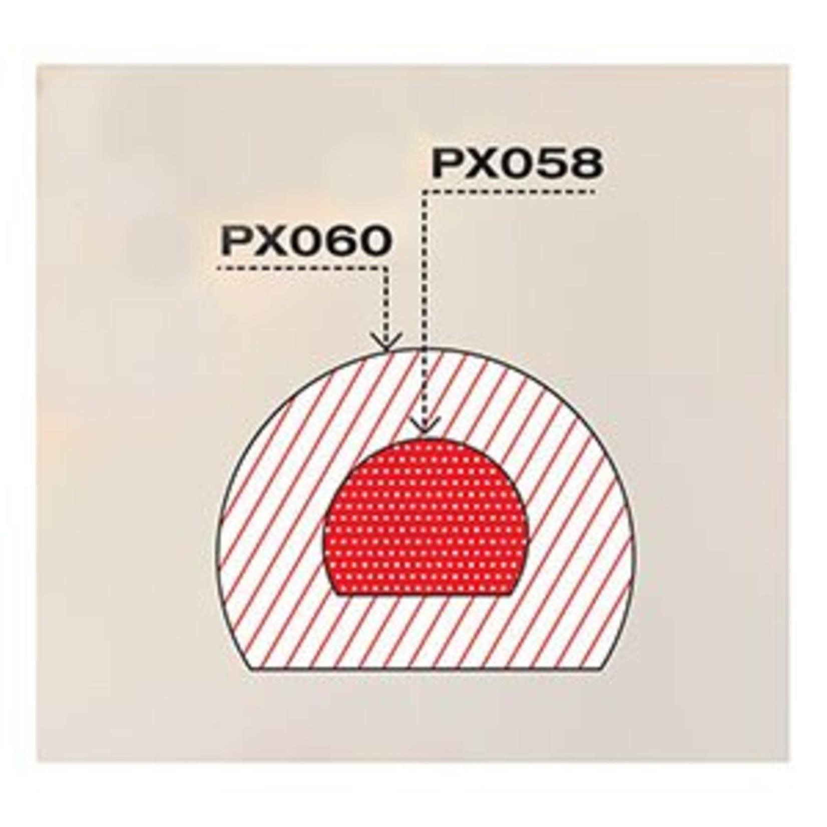 Pavoni Pavoni - Pavoflex silicone mold, Tronchetto, Mignon (9 cavity), PX058