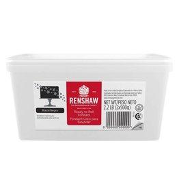Renshaw Renshaw - Fondant, Black - 2.2lb, 06136