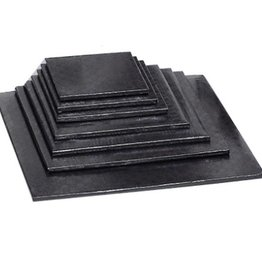 "Enjay Enjay - Cake drum - 1/2"" square, Black -"