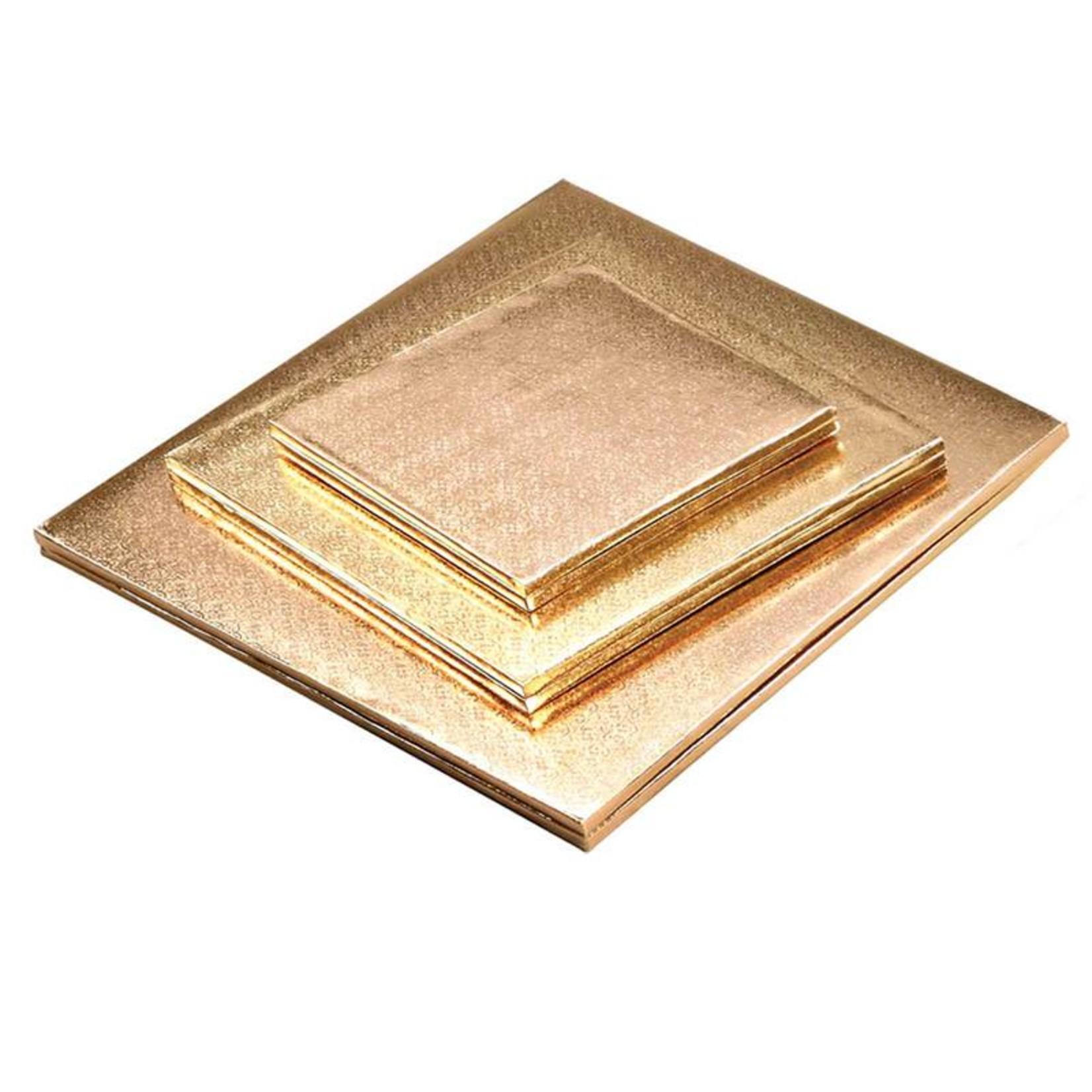 "Enjay Enjay - Cake drum - 1/2"" square, Gold -"