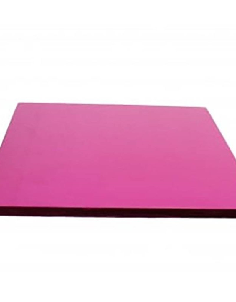 """Enjay Enjay - Cake drum - 1/2"""" square, Pink -"""