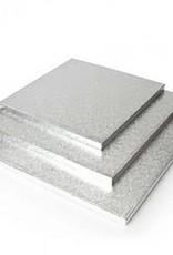 "Enjay Enjay - Cake drum - 1/2"" square, Silver -"