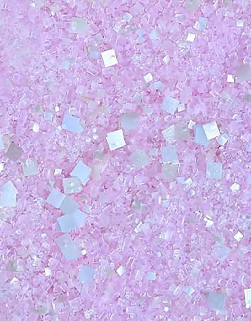 Bakery Bling Bakery Bling - Light Pink Glittery Sugar - 1 lb