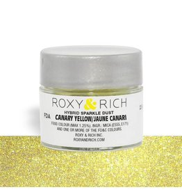 Roxy & Rich Roxy & Rich - Sparkle Dust, Canary Yellow -