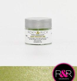Roxy & Rich Roxy & Rich - Sparkle Dust, Khaki Green - 2.5g