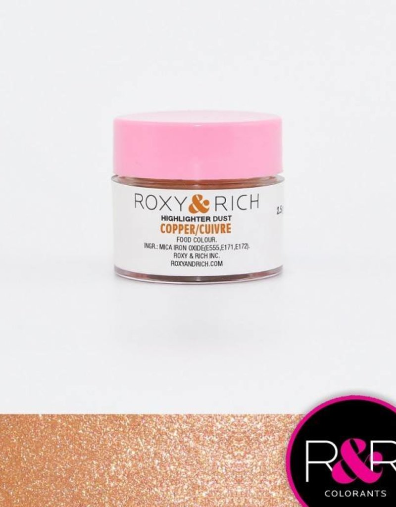 Roxy & Rich Roxy & Rich - Highlighter Dust, Copper -