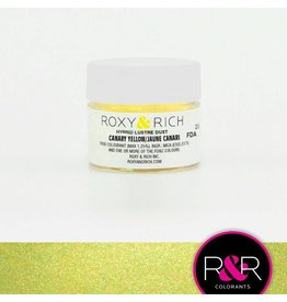 Roxy & Rich Roxy & Rich - Luster Dust, Canary Yellow - 2.5g