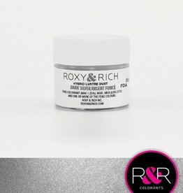 Roxy & Rich Roxy & Rich - Luster Dust, Dark Silver -