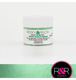 Roxy & Rich Roxy & Rich - Luster Dust, Emerald Green -