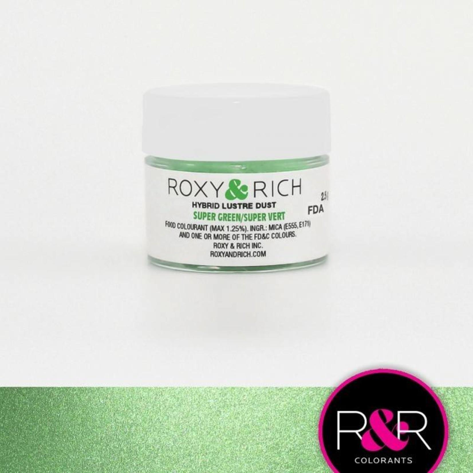 Roxy & Rich Roxy & Rich - Luster Dust, Super Green -