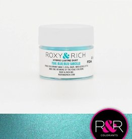 Roxy & Rich Roxy & Rich - Luster Dust, Teal Blue -