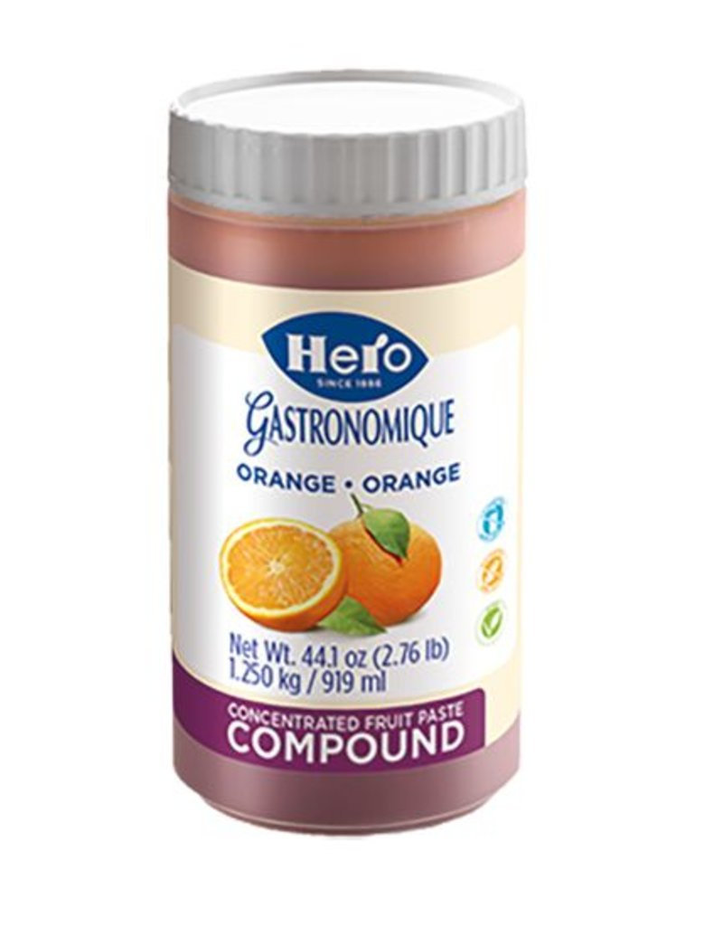 Hero Hero - Orange Compound - 2.76lb, HE1010