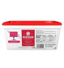 Renshaw Renshaw - Fondant, Pink - 5lb, 6154