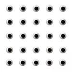 """CK CK - Icing Eyes - 1/4"""" (1000ct)"""