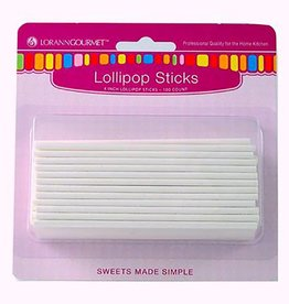 Lorann Lorann - Lollipop sticks - 4'' (100ct), 5720-0000