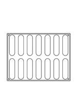 Pavoni Pavoni - Pavoflex silicone mold, Confy (14 cavity), PX4351