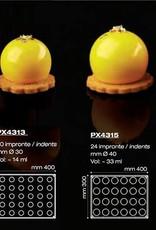 Pavoni Pavoni - Pavoflex silicone mold, Le sfera (30 cavity), PX4313