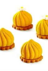 Pavoni Pavoni - Pavoflex silicone mold, Delice, Mignon (30 cavity), PX4324