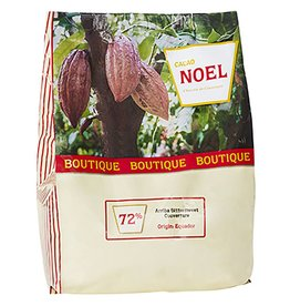 Cacao Noel Noel - Origin Arriba Dark Chocolate 72% - 4.4lb, NOE250 *4*