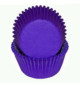 CK CK - Cupcake liner, Regular, Dark Purple (500ct)