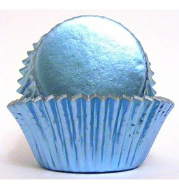 Enjay Enjay - Cupcake liner, Regular Foil, Light Blue (500ct)