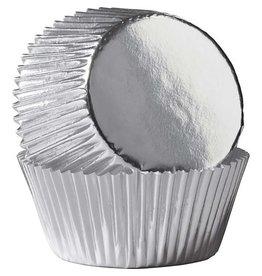 Enjay Enjay - Cupcake liner, Regular Foil, Silver (500ct)
