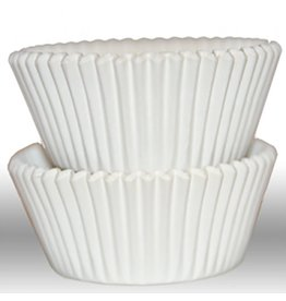 The Pastry Depot Cupcake liner - 2x1-3/8'' (500ct) - White