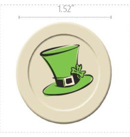 Dobla Dobla - Chocolate St. Patrick's Hat - White (168ct), 23010