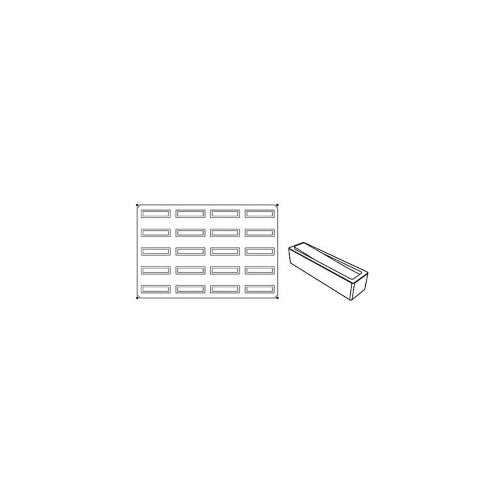Pavoni Pavoni - Pavoflex silicone mold, Libra, Monoporzione (20 cavity), PX027