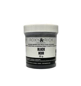 Roxy & Rich Roxy & Rich - Water Soluble Powdered Color, Black 25g