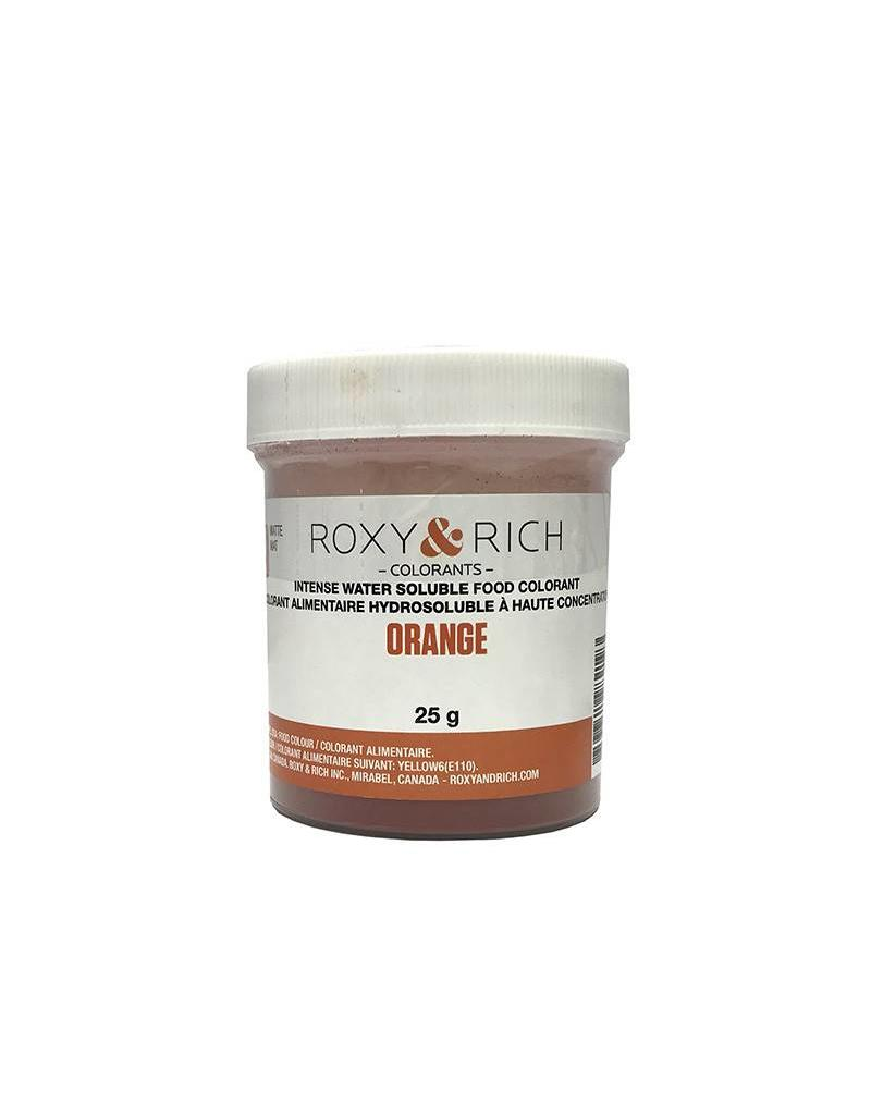 Roxy & Rich Roxy & Rich - Water Soluble Powdered Color, Orange 25g