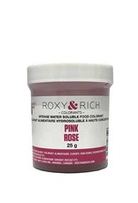 Roxy & Rich Roxy & Rich - Water Soluble Powdered Color, Pink 25g